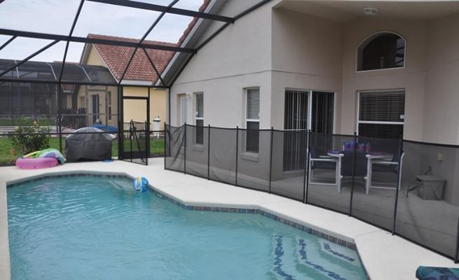 Pool, Water, Building