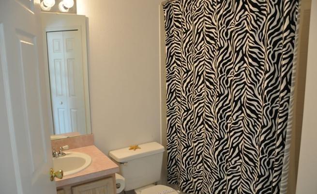 Bathroom, Indoors, Sink, Curtain, Room