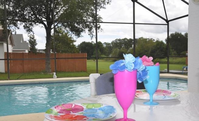 Pool, Water, Glass