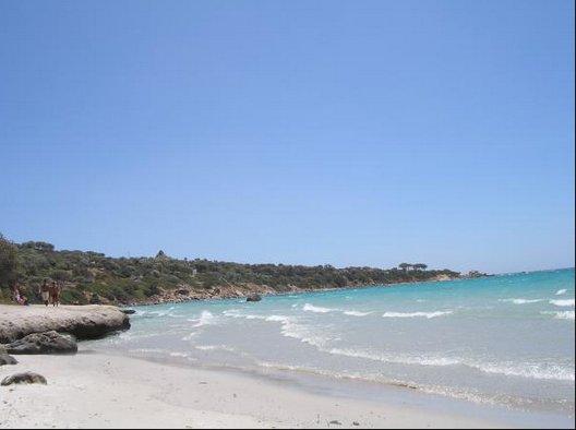 Het strand, op 5 minuten afstand lopen