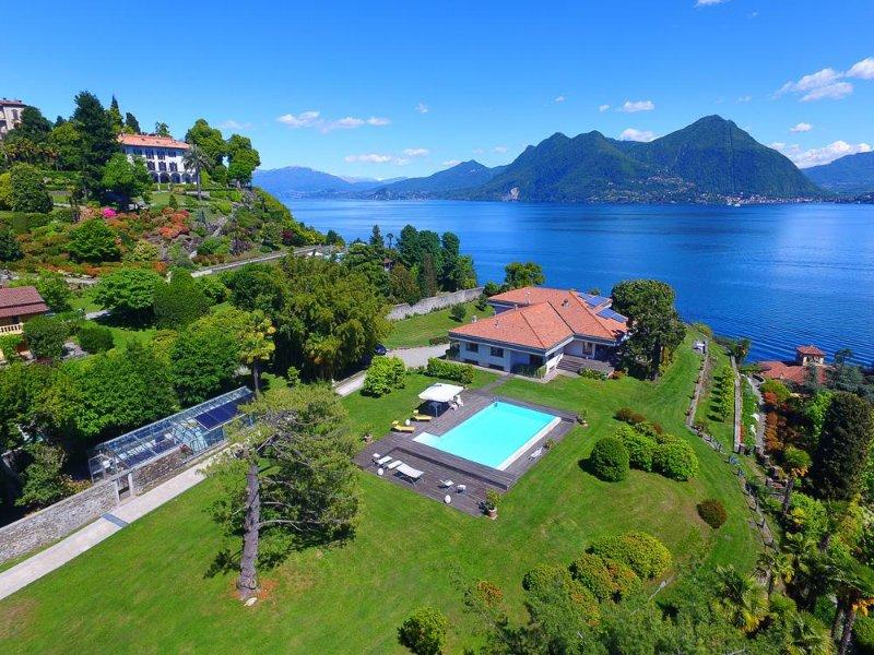 Villa Flora, Pallanza Lake Maggiore - NORTHITALY VILLAS Vacation Rentals