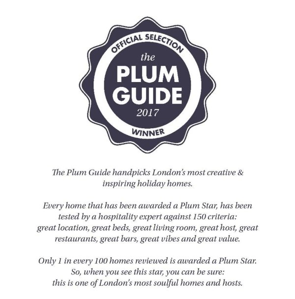 PlumGuide premiado estrela!