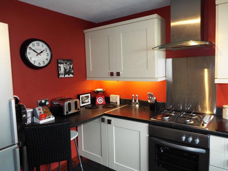 espaço encantador para cozinhar