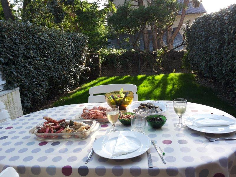 Jantar no terraço?