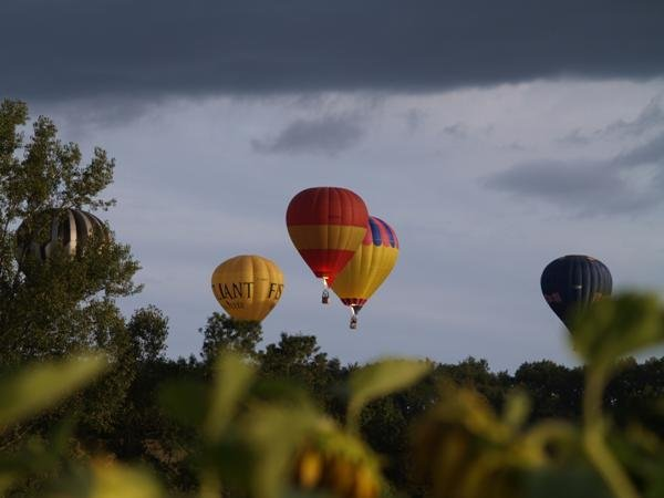 The bi-annual balloon race leaves from Mainfonds, 10 mins away. It is happening again this year 2017