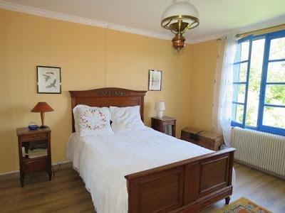 Toskana Zimmer: Doppelbett