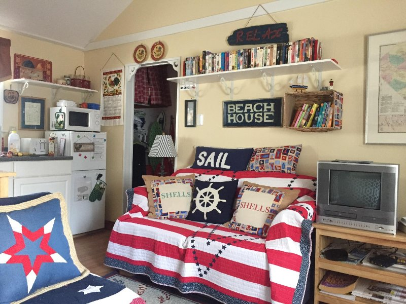 Beach themed all the comforts of home