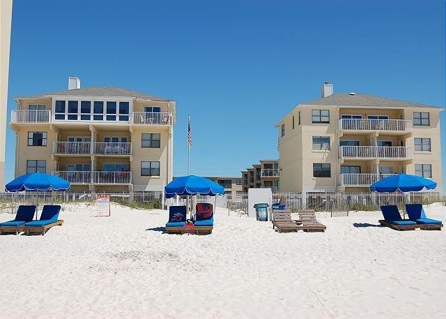 Harbor House from Beach