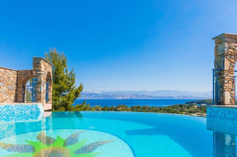 Villa Sole Kassiopi Corfu, holiday rental in Kassiopi