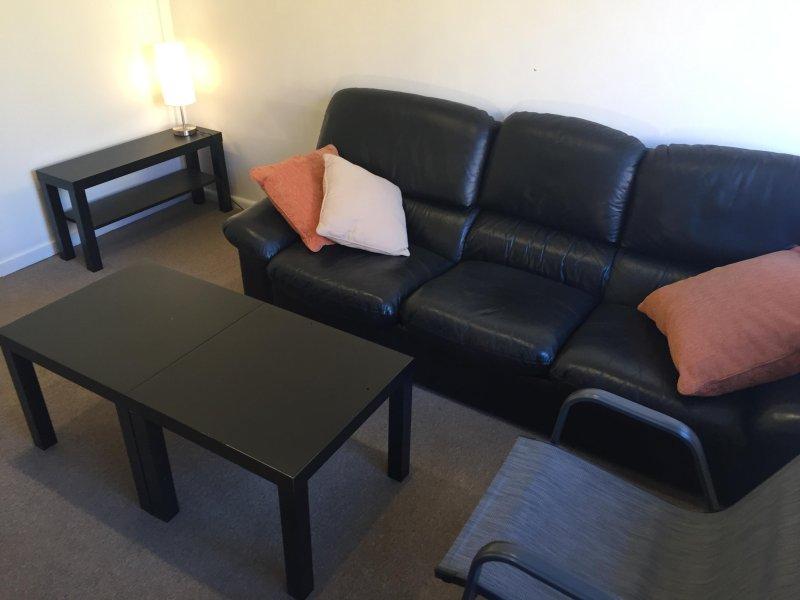 2. salón sofá se puede utilizar como una cama si es necesario.