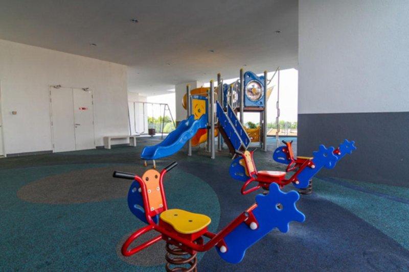 Covered Children's Playground.