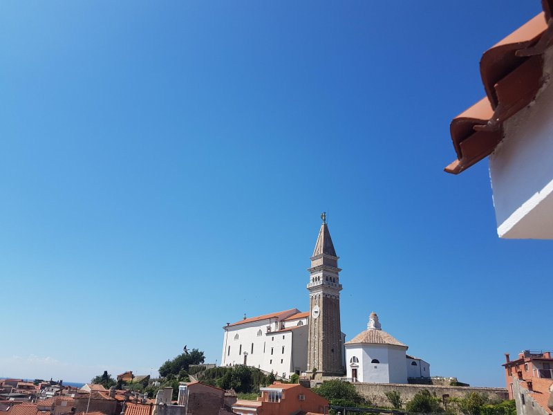 Piran Spectacular Private  Roof Terrace - Near Sea!, holiday rental in Slovenian Istria