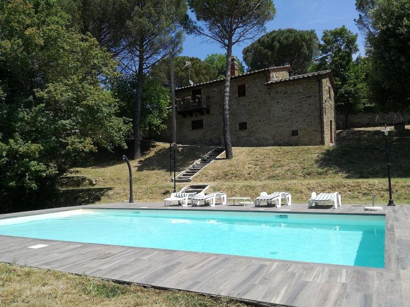 Podere San Cassiano, holiday rental in Palazzo del Pero