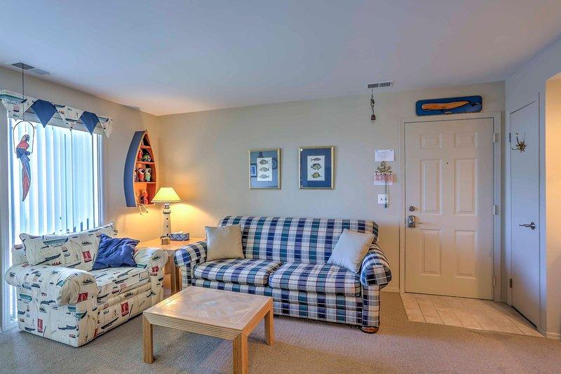 Verheug u op ontspannen in de gezellige woonkamer.