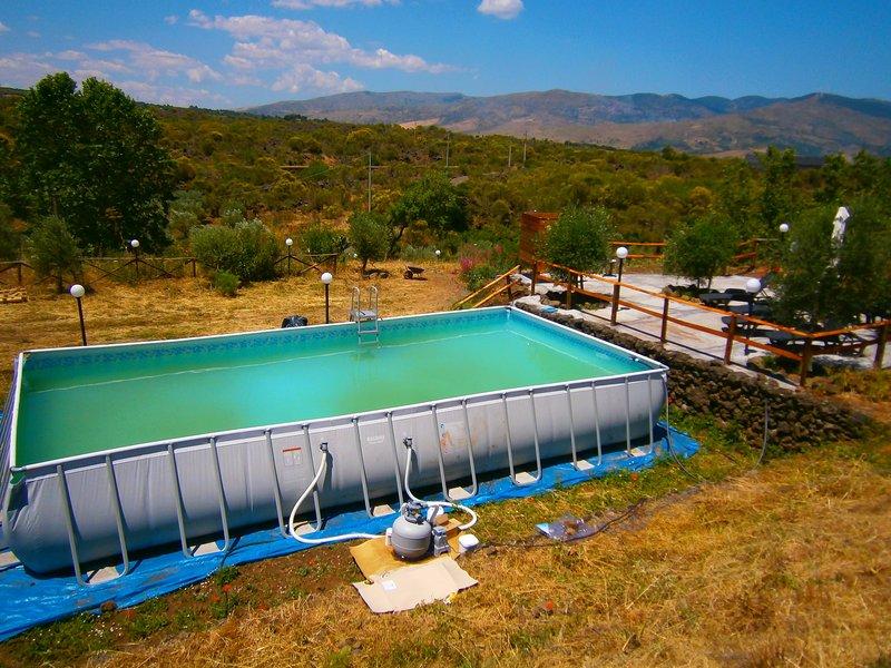 villa  lucia tra etna e il mare di taormina, holiday rental in Solicchiata
