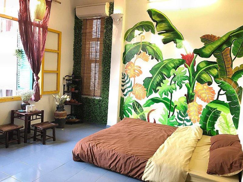 Inspiriert von der vietnamesischen Kultur, Luna Paradise Haus-Aufenthalt bietet Ihnen eine komfortable Unterkunft
