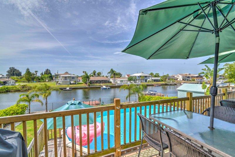 Waterfront Hernando Home W Private Dock For Boats