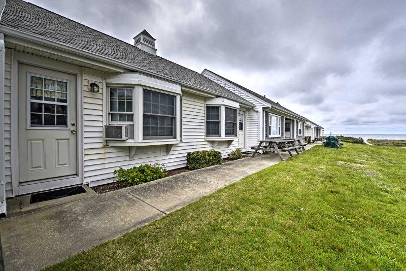 Descubrir las ciudades históricas y faros de Cabo Cod 2 dormitorios, 1 baños condominio de alquiler de vacaciones Dennis Port!