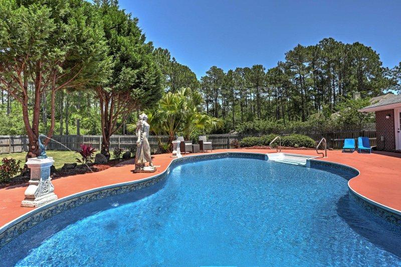 'Laguna Azul' boasts a private pool and half acre of land.