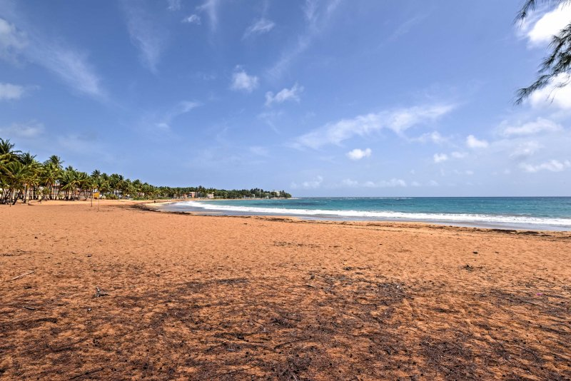 Genießen Sie in unmittelbarer Nähe zum Strand.