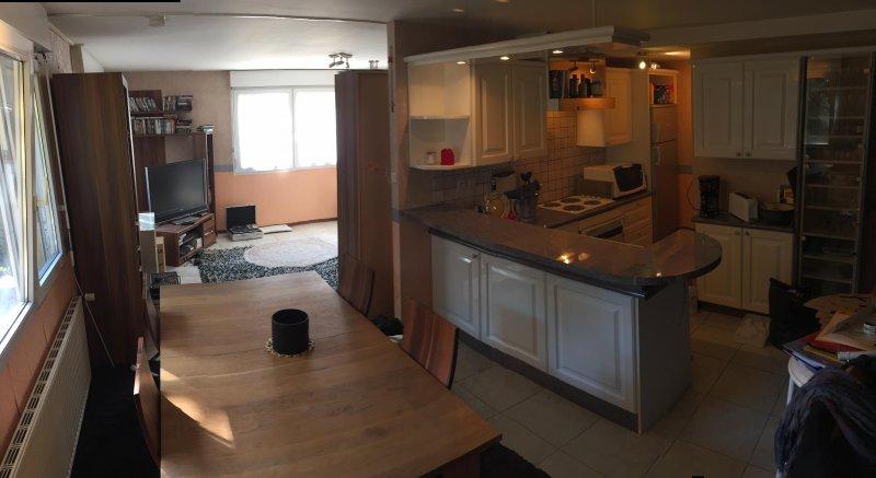 Belfort appartement meublé F4 duplex 140 M2, holiday rental in Ronchamp