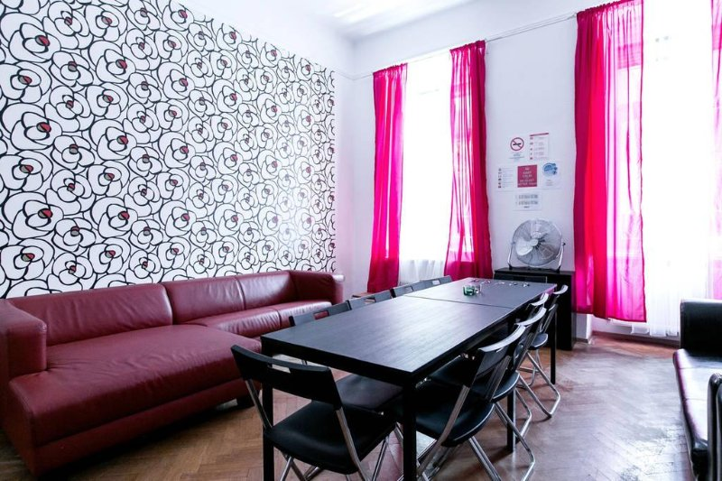 Specious living room for 16 persons
