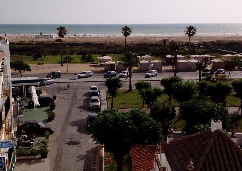 Spiaggia vista dal tetto