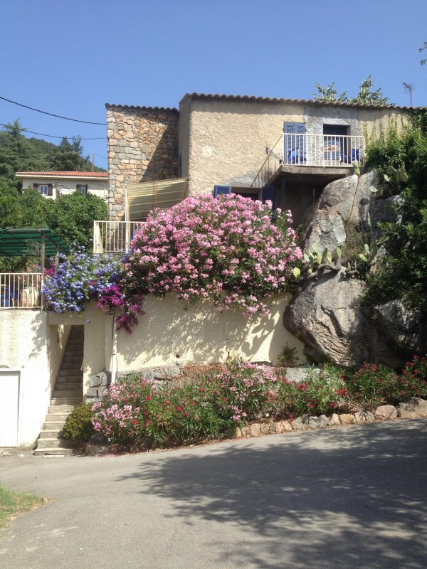 MAISON DE FAMILLE DE 300 ANS, location de vacances à Valle-di-Mezzana