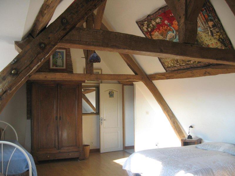 Chambre et table d'Hôtes classé 3 épis Gîte de France, aluguéis de temporada em Le Pechereau