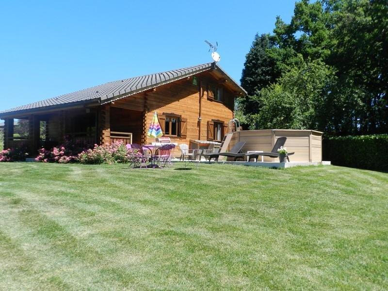 CHALET EN BOIS DE 120 M TOUT CONFORT AVEC PISCINE SAUNA  SPA PRES DE CARCASSONNE, holiday rental in Lacombe