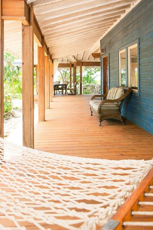 Covered porches with hamocks