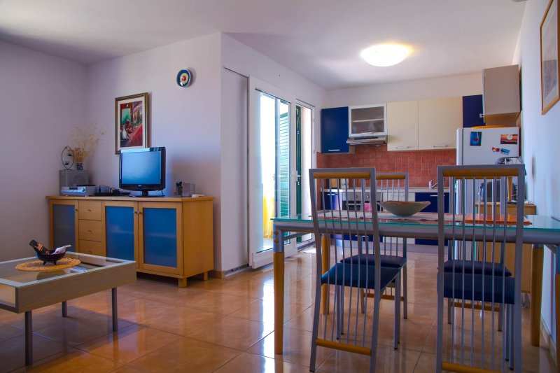 Luxurious Apartment with Terrace overlooking the Adriatic Sea, holiday rental in Brac Island