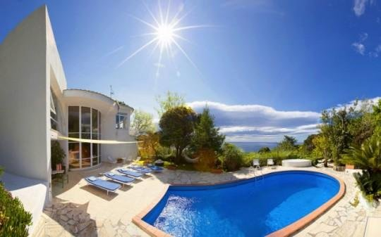Luxury villa with sea view and pool - 4 bedrooms, holiday rental in Piano di Sorrento
