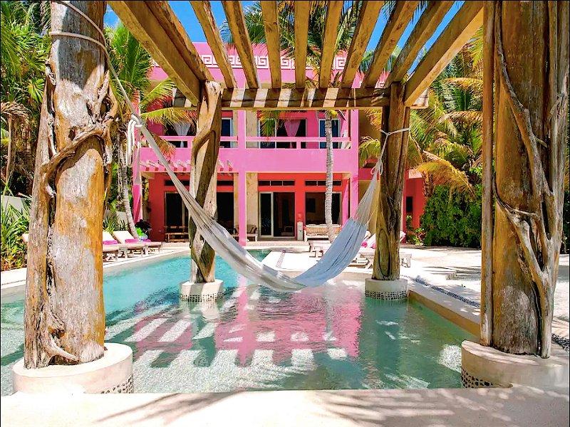 Riviera Maya Haciendas - Alma Rosa - Chef service - Beach Front / Fully Staffed, vacation rental in Akumal