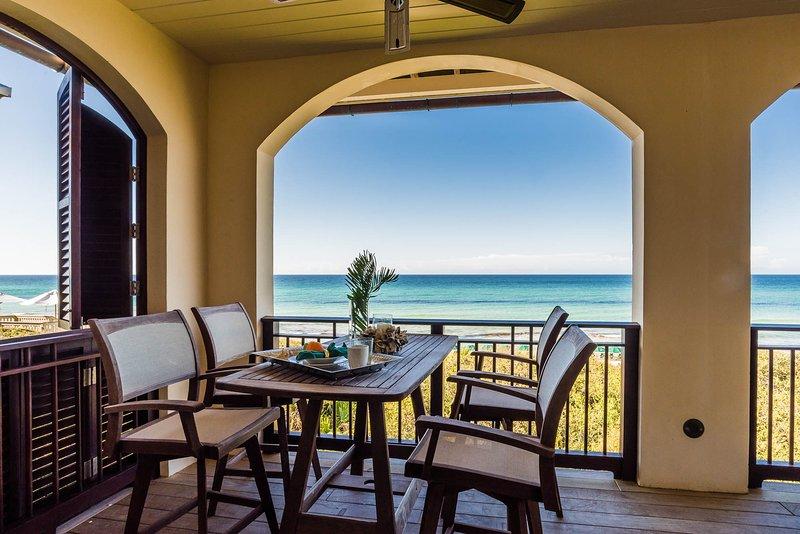 Beachfront In Rosemary Beach Unforgettable Gulf Views Luxury Interiors