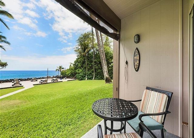 Welcome to Direct Oceanfront Ground Floor, Kona Isle D4!