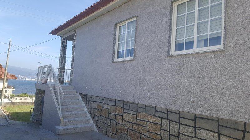 Side terrace access