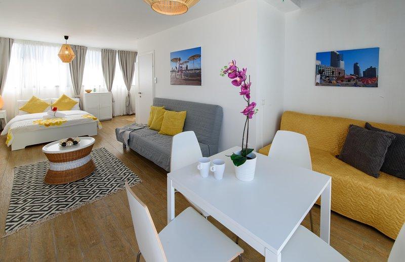 BEACH VIEW APARTMENT PENTHOUSE, alquiler de vacaciones en Jaffa
