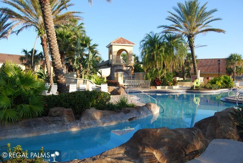 Regal Palms Resort Water Park.