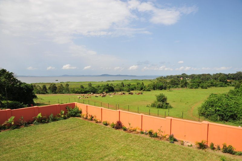 Enjoy the garden view from the balcony together with the  lake Victoria view.