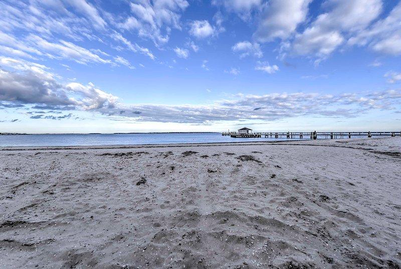 Enjoy being a short 3-minute walk from the beach.