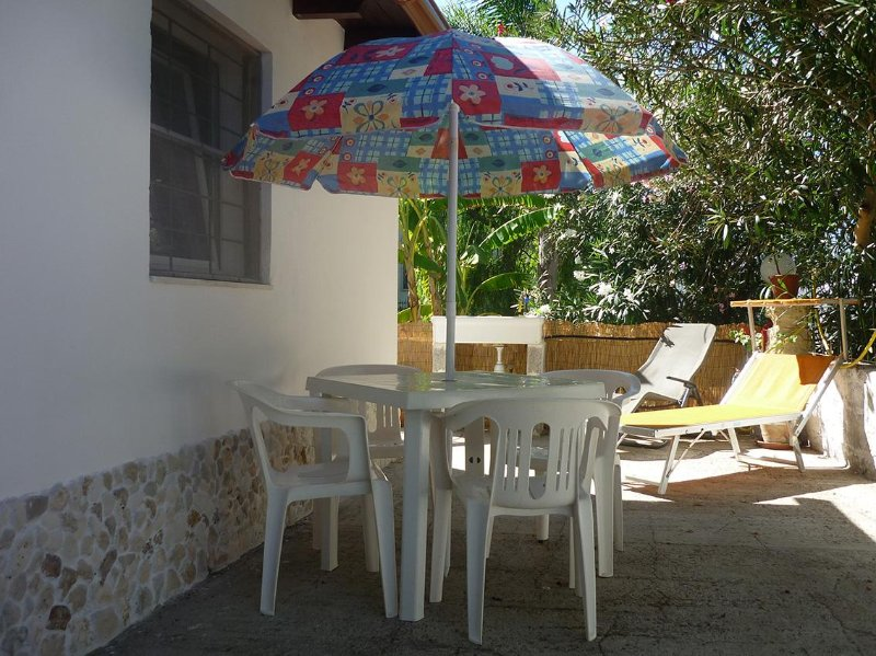 Terrace area of ​​our guesthouse