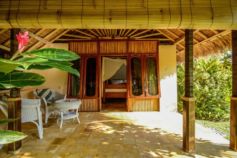 Villa Taman. Our garden Villa with easy access from reception area.