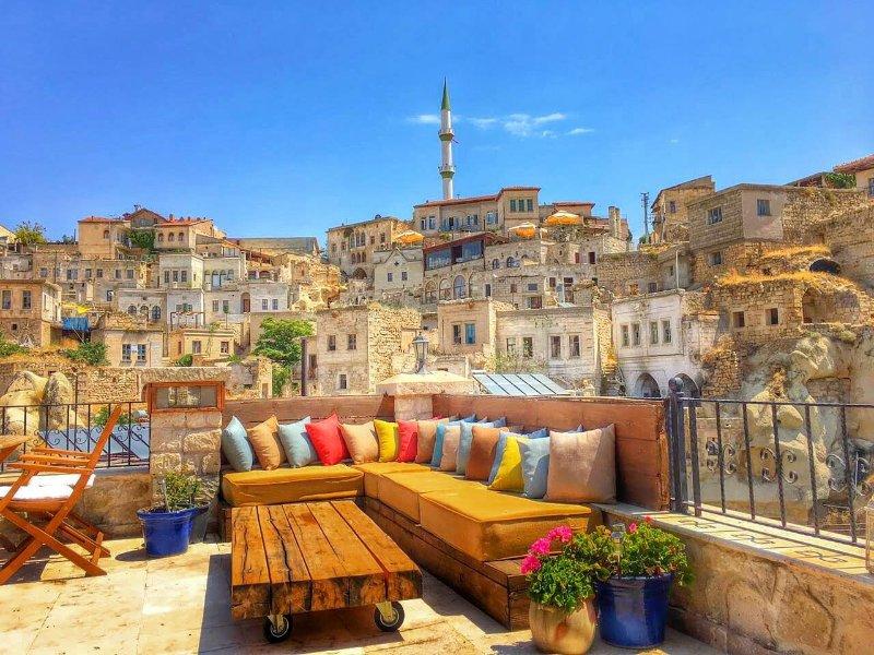 Stylish Cappadocian Cave Hotel -  Gorgeous Unique -  1 double ensuite Room, location de vacances à Cappadoce