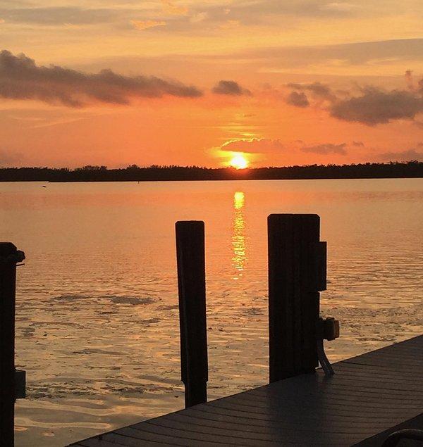 Hermosas puestas de sol.