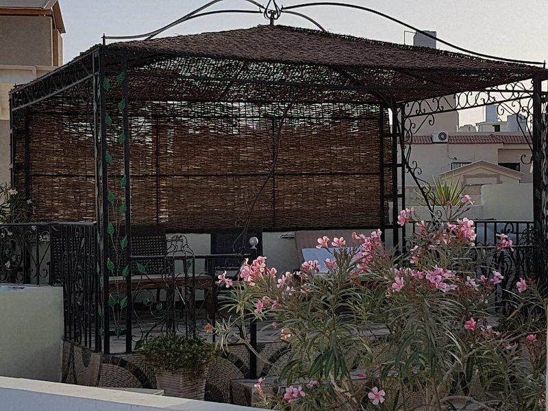 romantic roof terrace