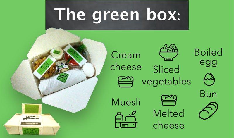 The green box - breakfast
