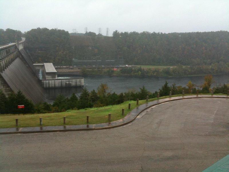 Bull Shoals Damm und weiß Fluss