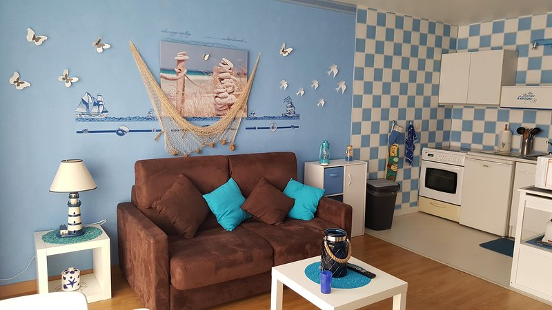 Joli studio spacieux  hyper centre ville parking, vacation rental in Lille