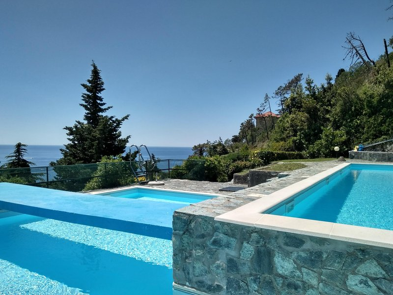 This amazing infinity pool belongs to ...